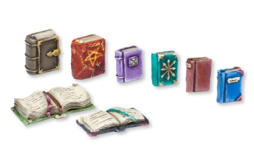 Books - Set 1 (8) Models Miniatures Figures RPG Tabletop Roleplay Games