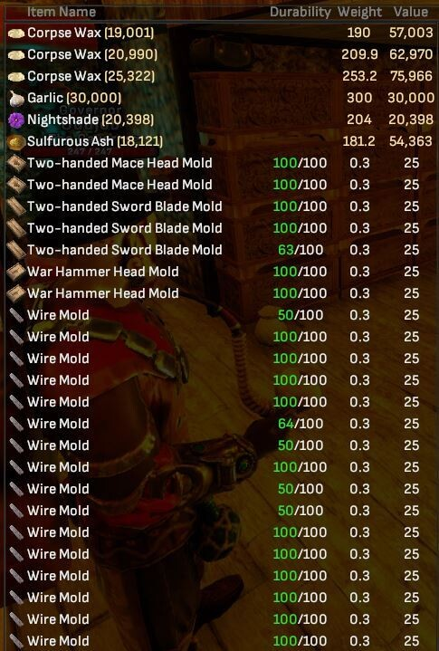 Reagents and More Crafting - Shroud of the Avatar