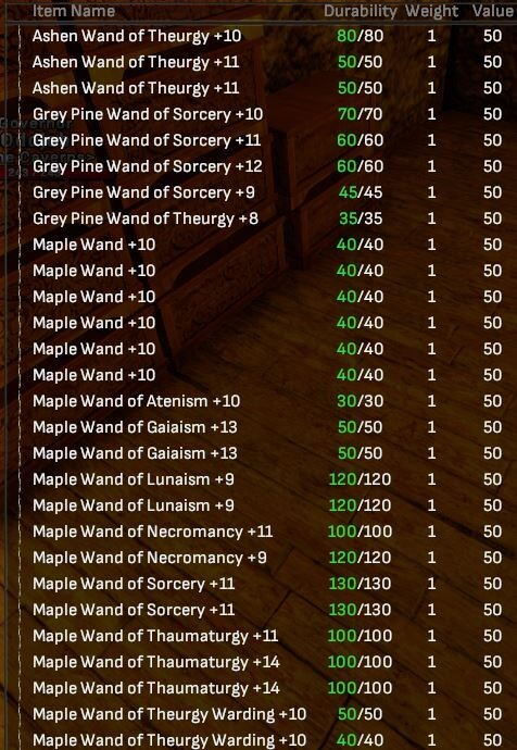 Crafted Wands and Supply Bundles Bundle - Shroud of the Avatar