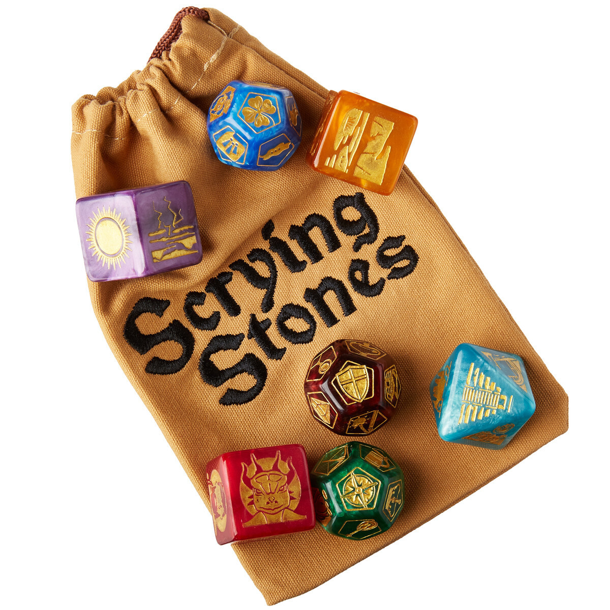 Scrying Stones DM Scenario Dice Races Jobs Quirks Weather RPG Tabletop Roleplay