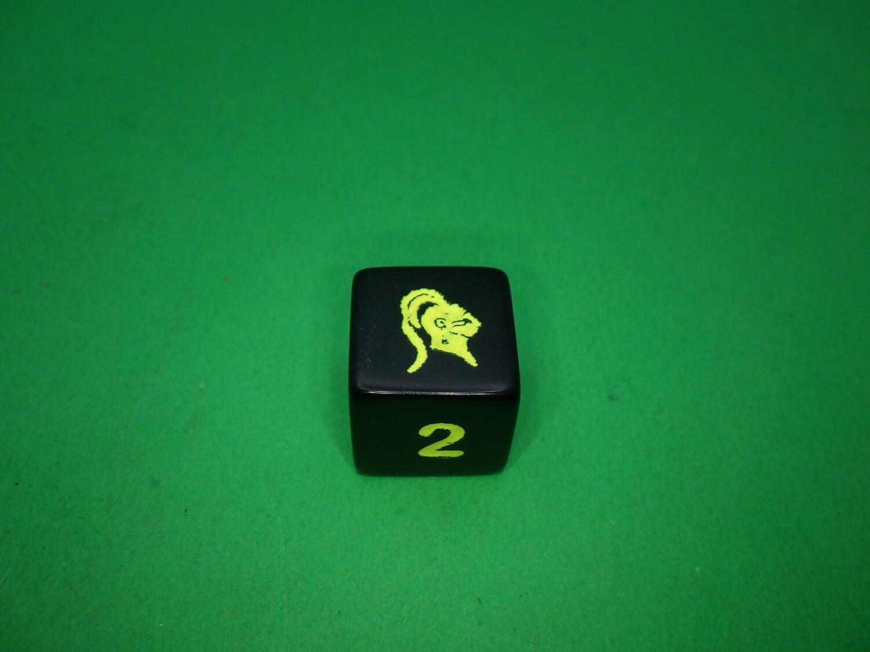 Helmet Custom D6 Die 16mm Gaming Tabletop RPG Dice Roleplay CCG Board Cards Games Token Counter Marker Board Random