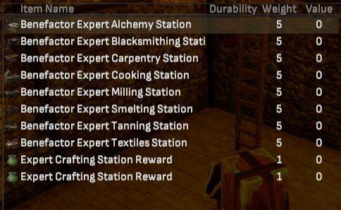 Expert Crafting Station Bundle - Shroud of the Avatar