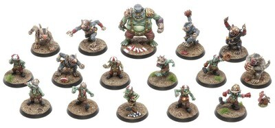Darkvalley Wretches - Complete Team Models Miniatures Figures RPG Tabletop Roleplay Games