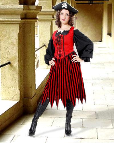 Alvilda Striped Skirt