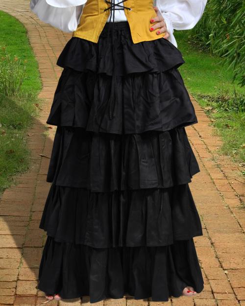 Frilly Medieval Skirt