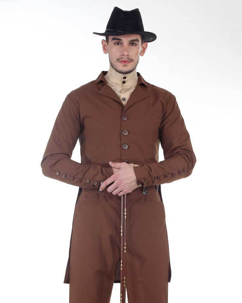 Steampunk Sovereign Tailcoat