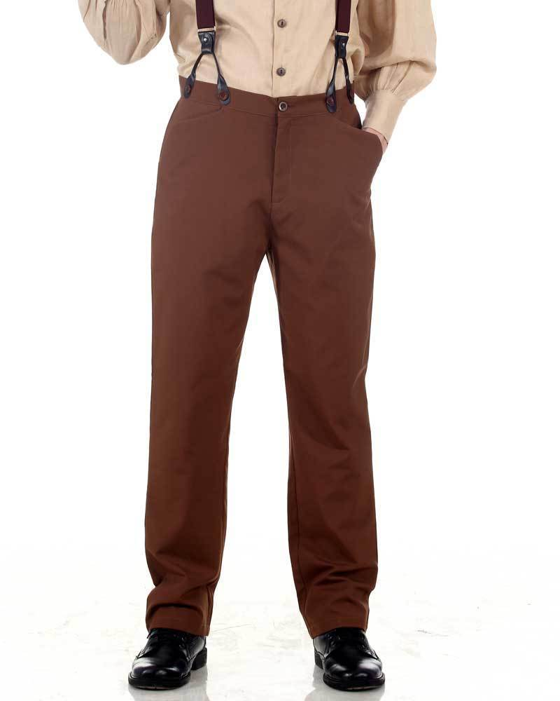 Classic Steampunk Pants-Brown