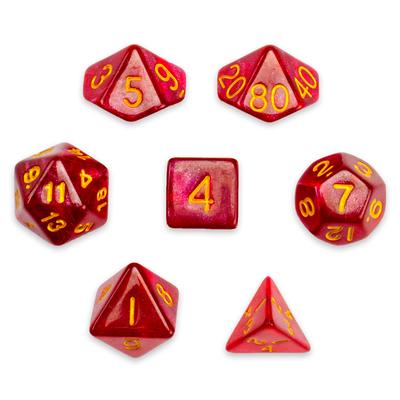 7 Die Polyhedral Set, Philosopher's Stone
