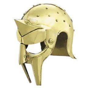 Gladiator Arena Helmet - Brass
