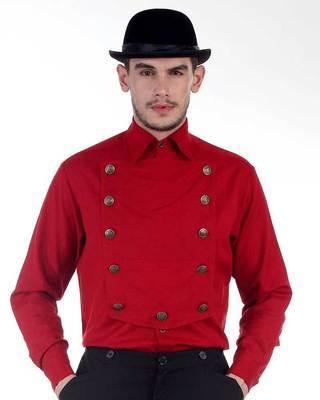 Red Airship Shirt