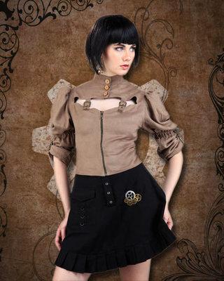 Steampunk Short Skirt