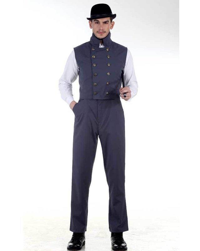 Canvas Classic Pants-Grey