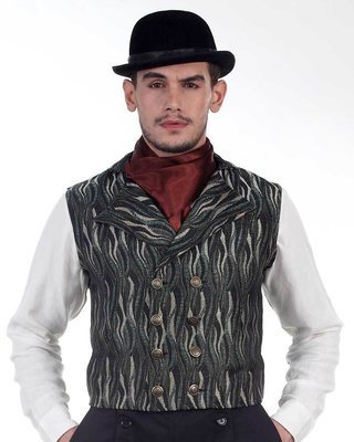 Brummell Double-Breasted Vest