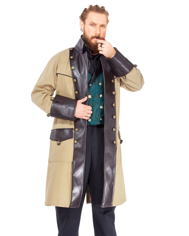 Chrononaut Brown Coat