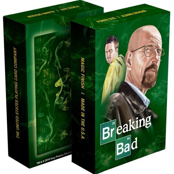 Breaking Bad – Classic Green Playing Cards