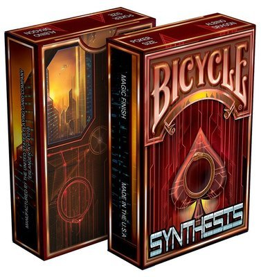 Synthesis – Red Playing Cards