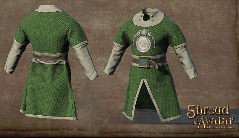 Benefactor's Cloth Tunic - Shroud of the Avatar