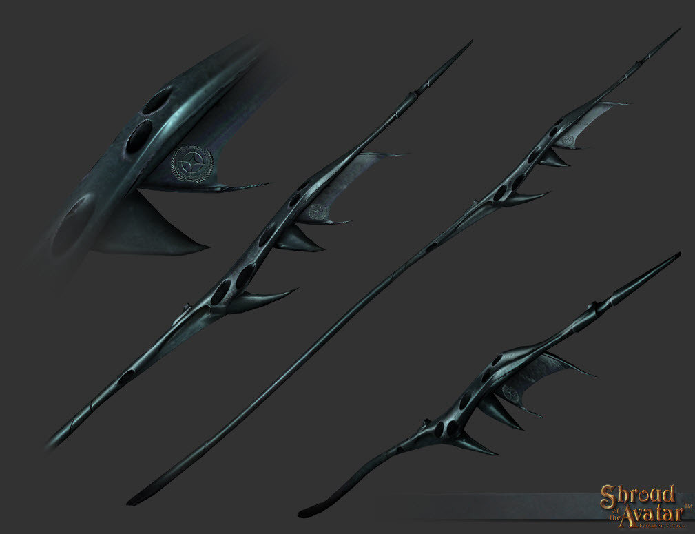 Benefactor's Vanduul Polearm - Shroud of the Avatar