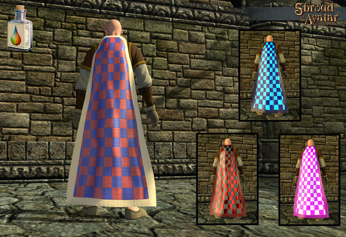 Checkered Cloak - Shroud of the Avatar