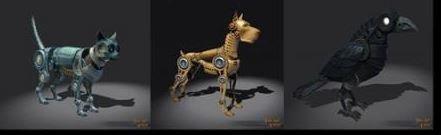 Non-Combat Clockwork Pet Reward (In Bag / Unchosen) - Shroud of the Avatar