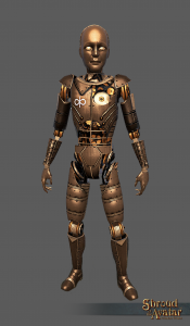 Brass Mini Automaton Decoration Pet - Shroud of the Avatar