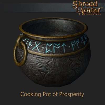 Cooking Pot of Prosperity - Shroud of the Avatar