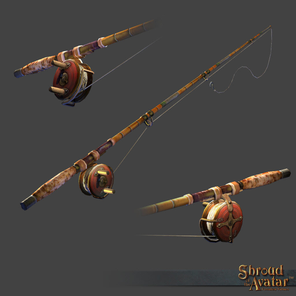 Fishing Rod of Prosperity - Shroud of the Avatar