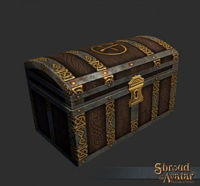 Ornate Public Cache Chest - Shroud of the Avatar