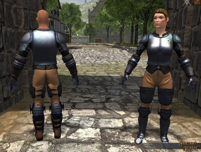 Founder Plate Set (Chest Armor, Boots, Gauntlets, Leggings) - Shroud of the Avatar