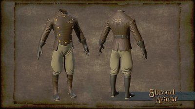 Virtue Aeronaut Set (boots, gloves, jacket, boots AND HELMET) - Shroud of the Avatar