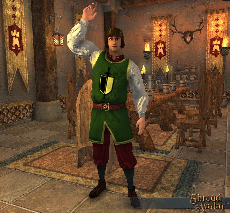 Knight's Servant Decoration Pet - Shroud of the Avatar