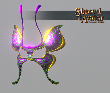 Butterfly Mask - Shroud of the Avatar