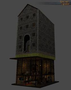 Row Stone & Timber 2-story Basement - Shroud of the Avatar