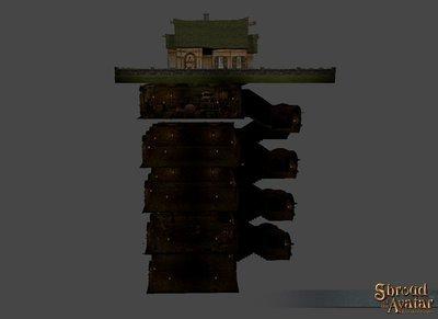 Village Stone 1-Story Basement - Shroud of the Avatar