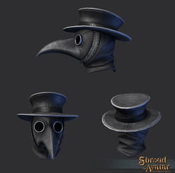 Virtue Plague Doctor Mask - R23 Hat Quest - Shroud of the Avatar