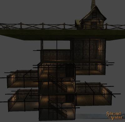 Village Stone & Timber 5-Story Basement - Shroud of the Avatar