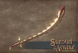 Flame Scimitar - Shroud of the Avatar