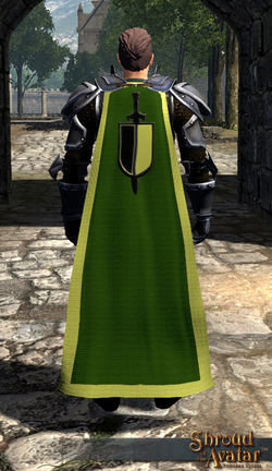 Knight's Cloak - Light source! - Shroud of the Avatar