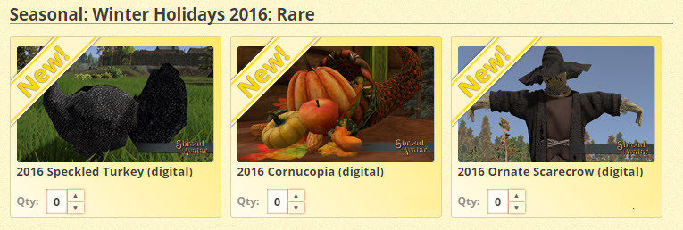 Ornate Cornucopia 2016 - Shroud of the Avatar