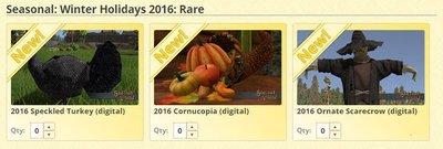 Ornate Cornucopia 2016 - Shroud of the Avatar