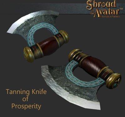 Tanning Knife of Prosperity - Shroud of the Avatar