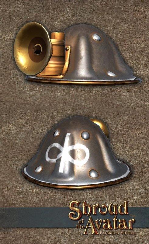 Virtue Miner's Helmet - Shroud of the Avatar