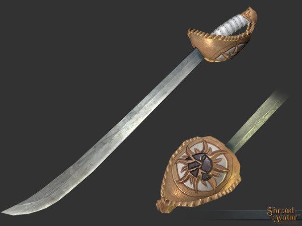 Royal Founder's Cutlass - Shroud of the Avatar