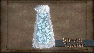 Snowflake Pattern Cloak - Shroud of the Avatar