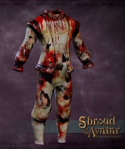 Torn and Tattered Wedding Set Male (Tuxedo, Pants, Shoes) - Shroud of the Avatar