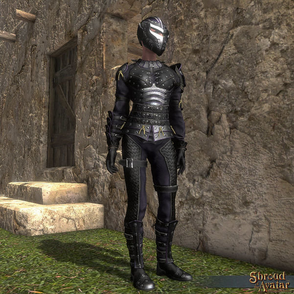 Elven Elder Fighter Outfit (Boots, Chest, Gloves, Helm, Legs) - Shroud of the Avatar
