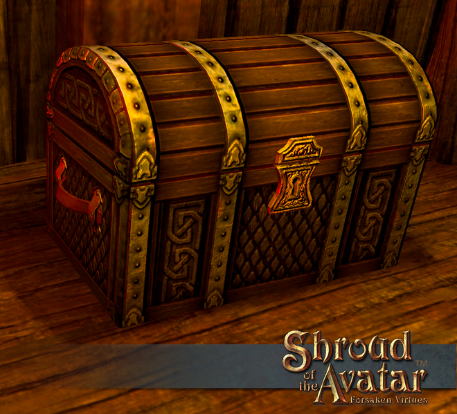 Viking Storage Chest - Shroud of the Avatar