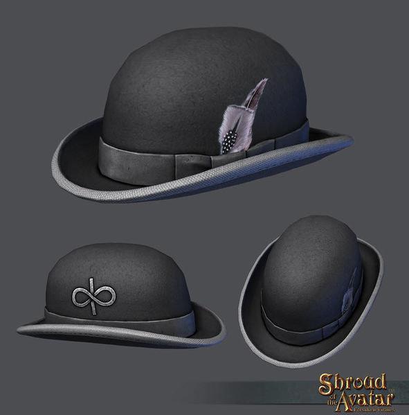 Virtue Bowler Hat - Shroud of the Avatar