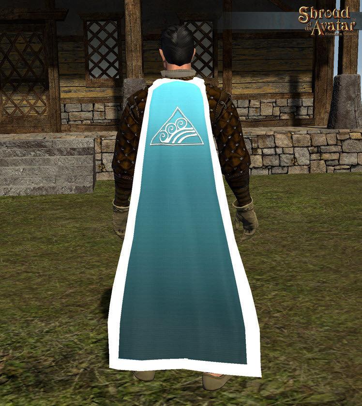 Water Magic Cloak - Shroud of the Avatar