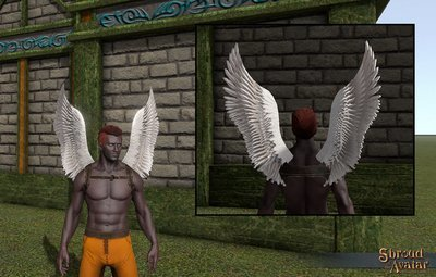 White Feather Wings - Shroud of the Avatar
